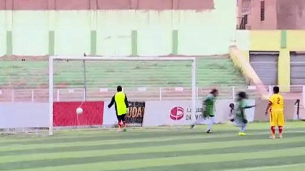 Átalakulás: női foci Szudánban