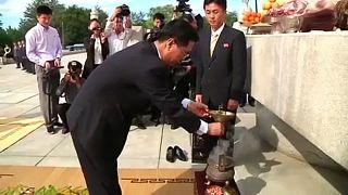 Az első államalapítóra emlékeztek a két Koreában