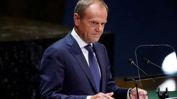 Donald Tusk kiosztotta Boris Johnsont