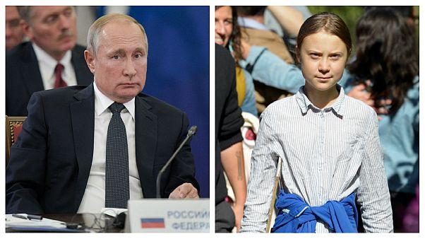 انتقاد پوتین از گرتا: به کشورهای در حال توسعه بگویید چرا باید فقیر بمانند و مانند سوئد نشوند