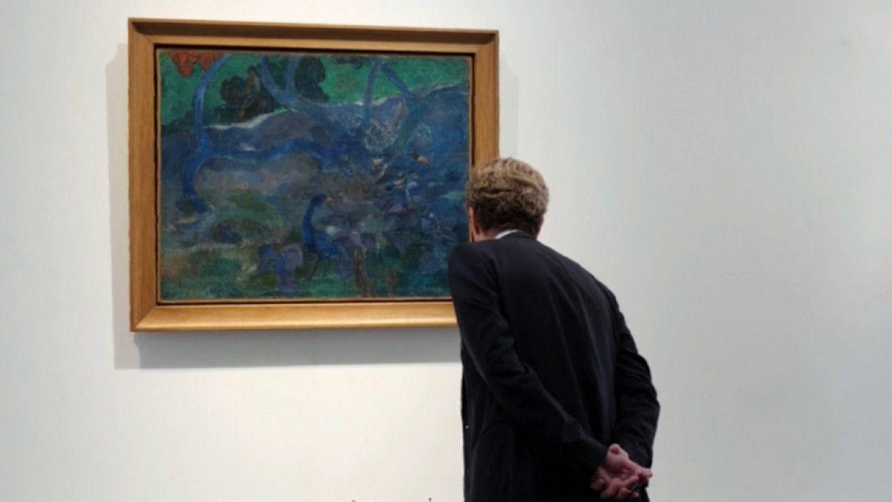 "Un ""extraño"" cuadro de Gauguin se subastará en París"