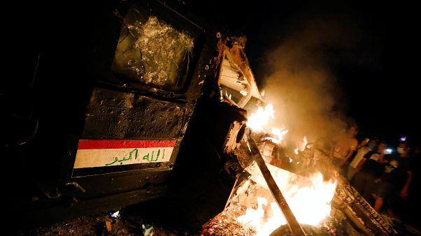 ارتفاع قتلى الاحتجاجات في العراق إلى 44 ورئيس الوزراء يريد إجراء تعديلات حكومية
