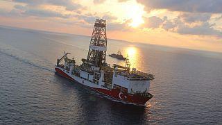 Yavuz gemisi sondaj faaliyetleri için Akdeniz'de