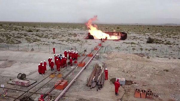 Çin, Doğu Türkistan'da 115 milyar metreküp doğal gaz keşfetti