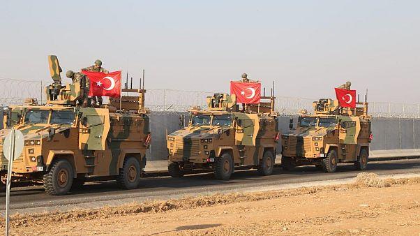 TSK güvenli bölge kurmak için Suriye'de kara devriyesinde