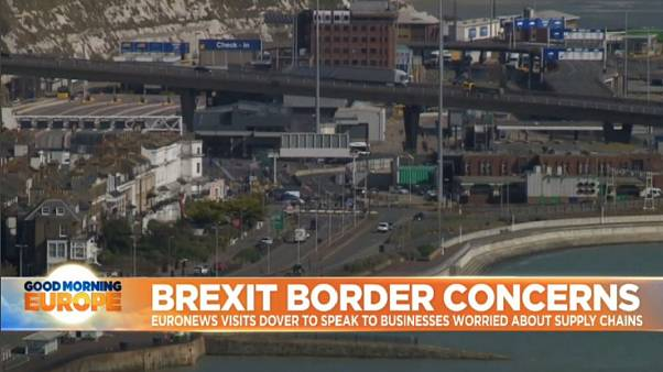 Inside Dover: Europe's busiest ferry port prepares for Brexit