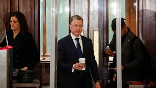 Kurt Volker, US diplomat at the center of Trump/Ukraine scandal, arriving at the US Capitol