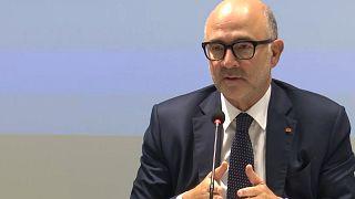 Π. Μοσκοβισί: Το πρωτογενές πλεόνασμα μπορεί να χαμηλώσει από το 2021