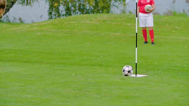 Watch: Footgolf world championships held in Austria