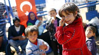 Szíriai menekültek Törökországban