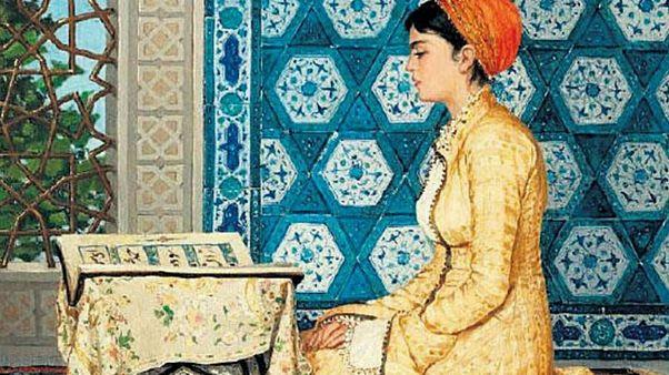 """Osman Hamdi Bey'in rekor fiyata satılan """"Kur'an Okuyan Kız"""" tablosunu Malezya aldı"""