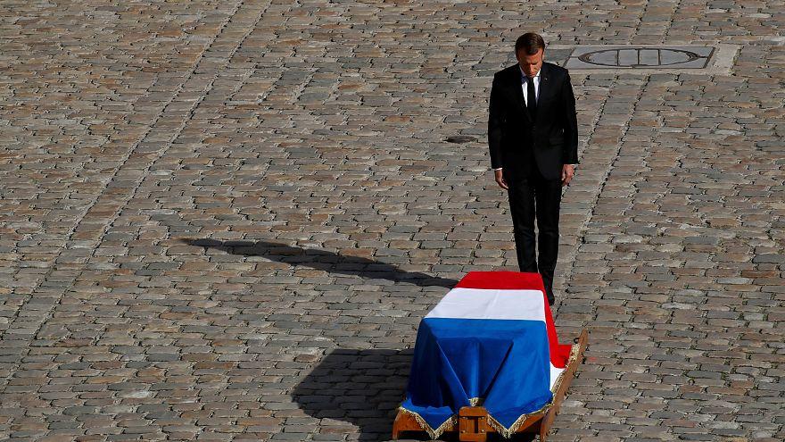 گلچین ویدئوهای بدون شرح هفته؛ از تشییع جنازه شیراک تا طوفان لورنزو