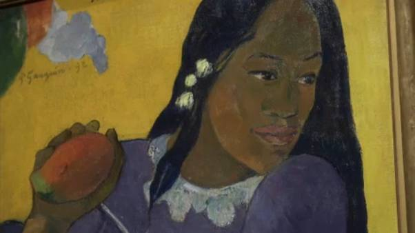 """Retratos de Gauguin"" na National Gallery em Londres"