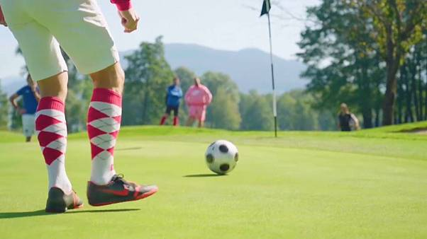 شاهد: بطولة العالم لكرة قدم الغولف في النمسا!