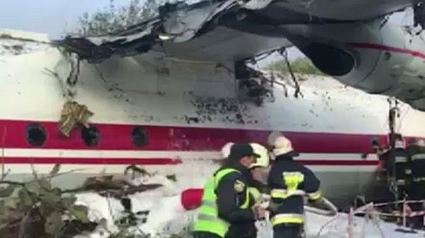 Légi katasztrófa Ukrajnában – 5 ember meghalt