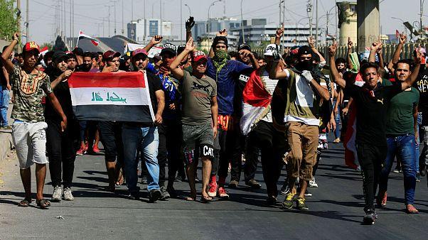 شمار کشته شدگان ناآرامیهای عراق به دستکم ۶۵ نفر رسید