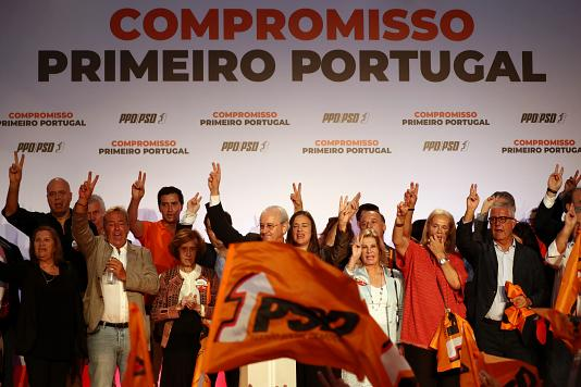 Portugal election: Exit polls suggest win for Socialists