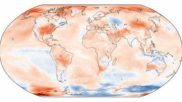 Surface air temperature anomaly for September 2019