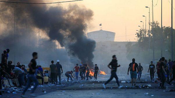 نگرانی کشورها از سرکوب اعتراضات عراق با زور نیروهای امنیتی