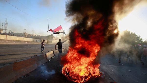 ارتفاع حصيلة ضحايا احتجاجات السبت في بغداد إلى 19 قتيلا
