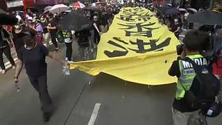 Hong Kong peaceful pro-democracy protest