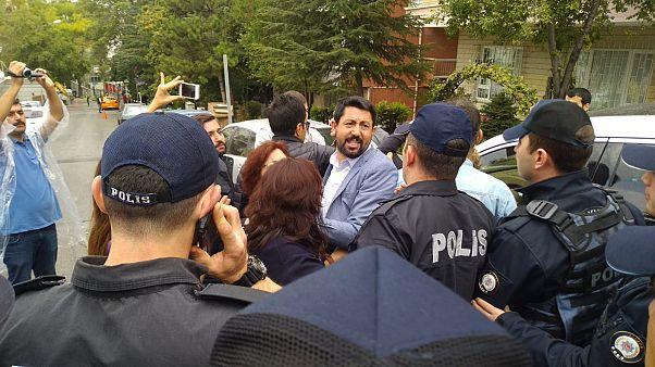 'KHK'lılar Buluşması' için Ankara'ya giden gruplara polis müdahalesi