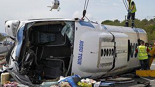 Ρουμανία: Δέκα νεκροί από σύγκρουση νταλίκας με λεωφορείο