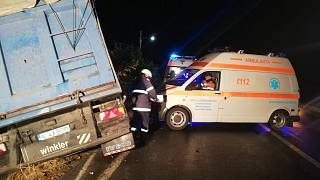 Ten people dead after minibus collides with truck in Romania