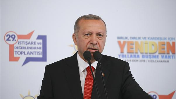 Cumhurbaşkanı Recep Tayyip Erdoğan, partisinin 29. İstişare ve Değerlendirme Toplantısı'na katıldı