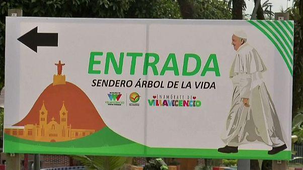 شجرة زرعها البابا فرنسيس في2017 في كولومبيا وجدت مسمومة .. من الفاعل؟