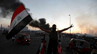 Iraq protests: Five killed as security forces shoot anti-government demonstrators