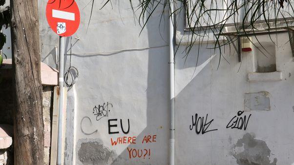 Moria'daki Suriyeli sığınmacı: Avrupa beni Türkiye'ye geri gönderirse intihar ederim