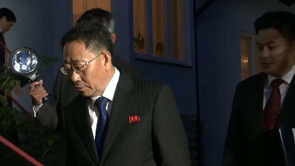 مذاکرات کارشناسی میان آمریکا و کره شمالی در سوئد متوقف شد