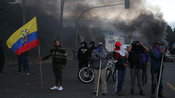 Proteste a Quito. 5.10.2019.