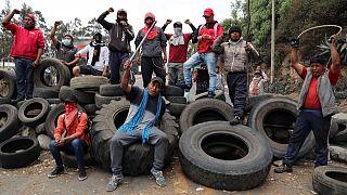 Ecuador: nem csituló tiltakozás