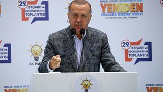 Erdoğan: Trump 'Güvenli Bölge' konusunda söylediğimiz noktaya geldi