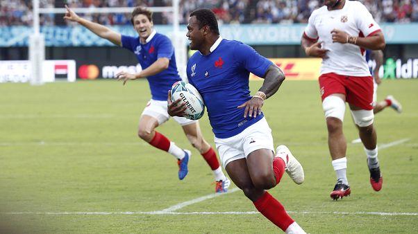 Mondial de rugby : la France file en quarts
