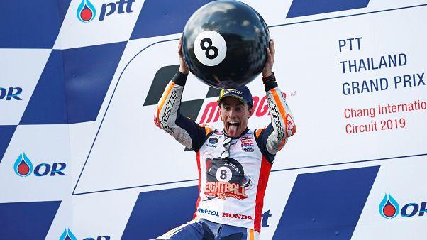 Marc Márquez sagra-se campeão do mundo... outra vez