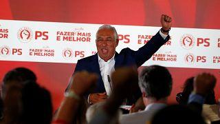 PS vence sem maioria, recorde na abstenção e no número de partidos eleitos