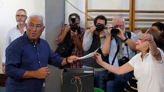 Az Antonis Costa vezette kormányzó szocialisták nyerték a portugál választásokat