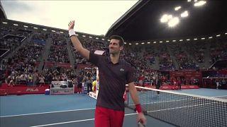 Novak Djokovic venceu Open do Japão