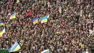 """Киев: протест против """"формулы Штайнмайера"""""""