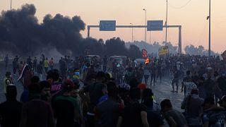 مقتل ثمانية متظاهرين خلال مواجهات مع قوات الأمن في بغداد