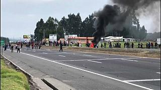 Primera muerte en las protestas de Ecuador