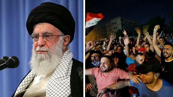 واکنش رهبر ایران به اعتراضات عراق: دشمنان سعی بر تفرقه دارند