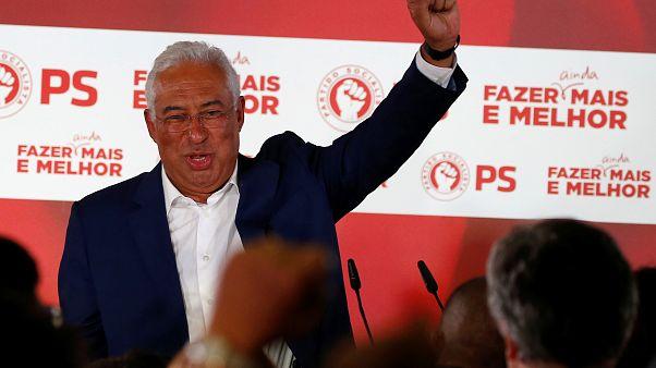 O ηγέτης του Σοσιαλιστικού Κόμματος (PS) και πρωθυπουργός Αντόνιο Κόστα