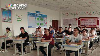ABD haber kanalı, Uygur Türklerinin tutulduğu Çin'in toplama kamplarına girdi