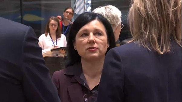 Jourova busca ser comisaria de valores y transparencia