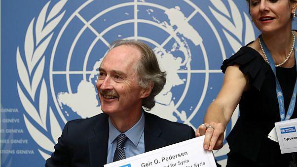 المبعوث الخاص للأمم المتحدة بيدرسن- أرشيف رويترز