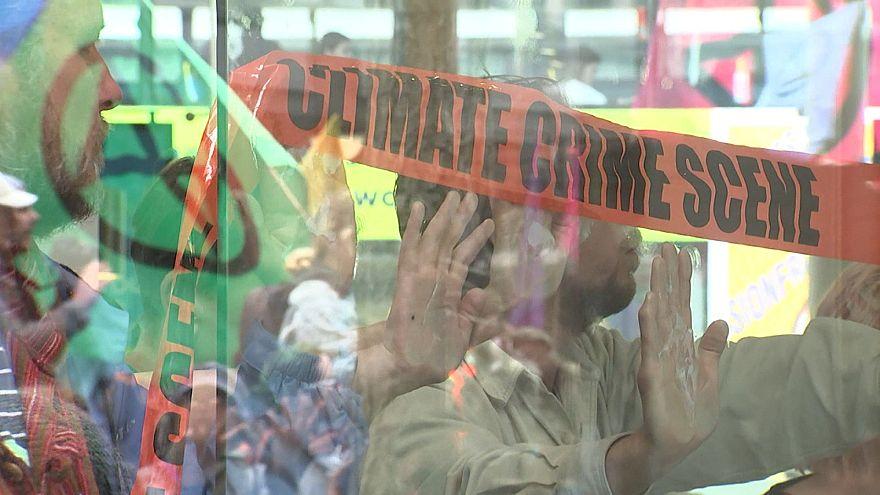 Задержания участников акции протеста в Веллингтоне